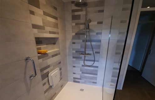 Veilig douchen - anti slip