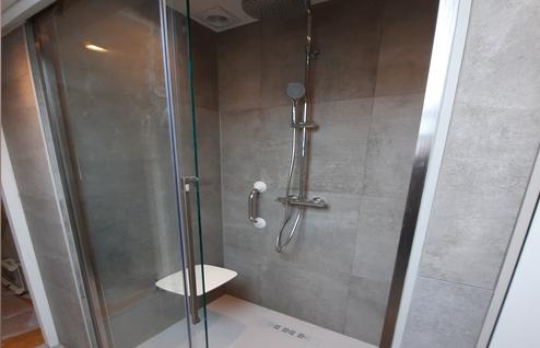 Veilig douchen- wandbeugel